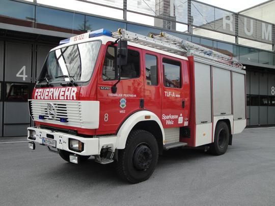 ausrüstung zur brandbekämpfung