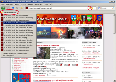 RSS Screenshot